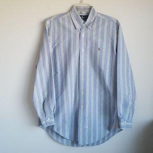 Ralph Lauren Long sleeve Button Up Shirt( Men)